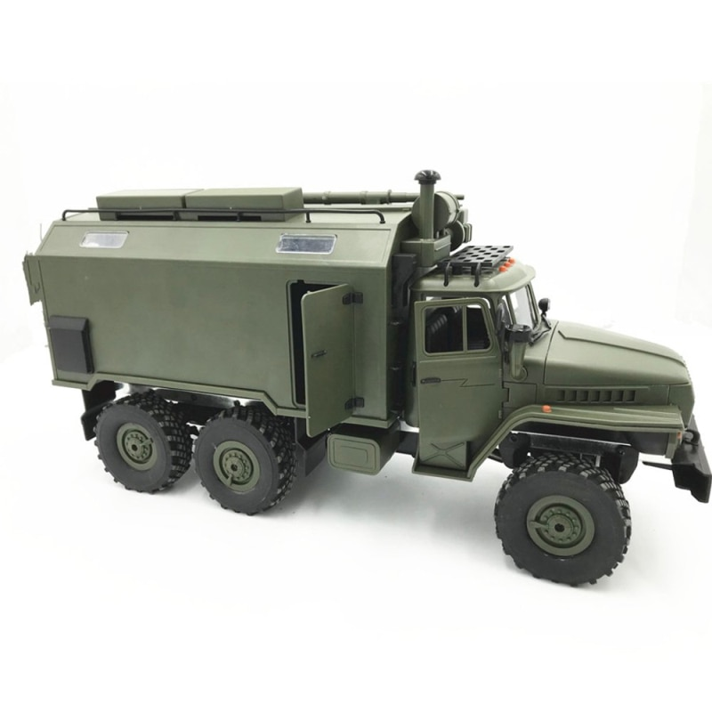 1/16 2.4G 6WD RC Car Military Truck Rock Crawler off load climbing Car Toy Remote Control Command Communication Vehicle RTR Toys enlarge