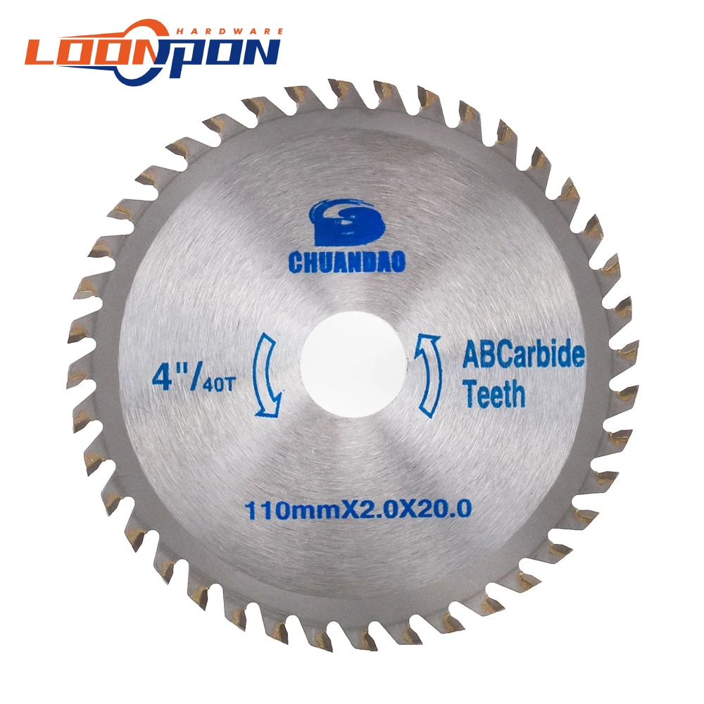 4 - 14 Circular Saw Blade Angle Grinder Saw Disc Carbide Tipped Wood Cutter Wood Cutting Disc 40T-120T tovia 125mm carbide saw blades wood cutting disk cutting wood saw disc multitool wood cutter angle grinder for wood