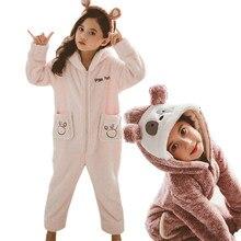 Bebé niña manta Pijamas lindos niños polar Animal Onesie sudadera Panda Onesie pijamas Mono para adolescentes