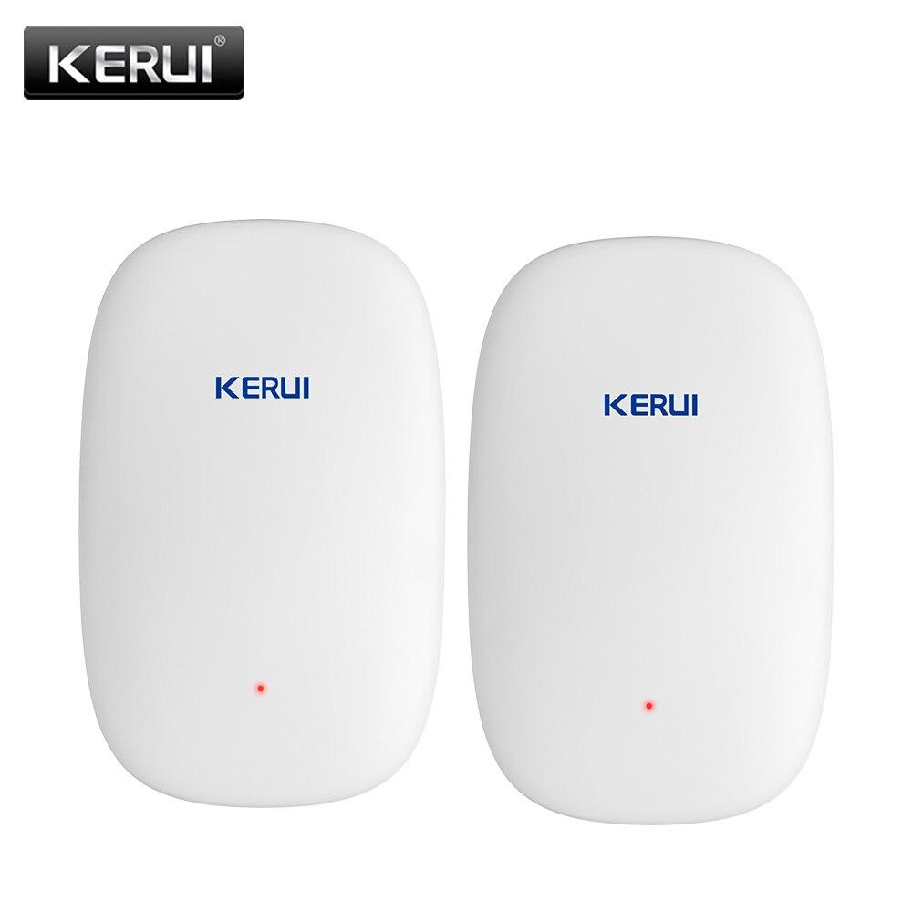 KERUI-كاشف اهتزاز الباب/النافذة اللاسلكي Z31 ، نظام إنذار الأمان ، مضاد للسرقة ، مستشعر الصدمات ، لـ G18 W18 W20 K52