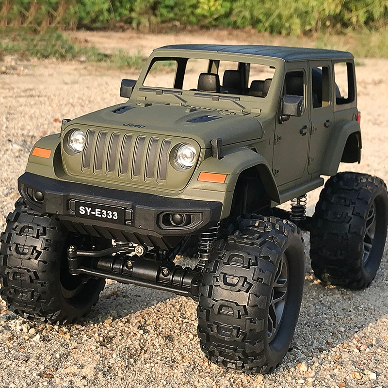 JTY Toys 1:14 Wrangler RC Car Remote Control Pickup Truck 4x4 Bigfoot Radio Off-Road Vehicle Waterproof Car Toy For Children enlarge
