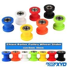 Guide de tendeur de roue pour moto, 8mm, 10mm, à chaîne, XR125, CRF50 KLX110