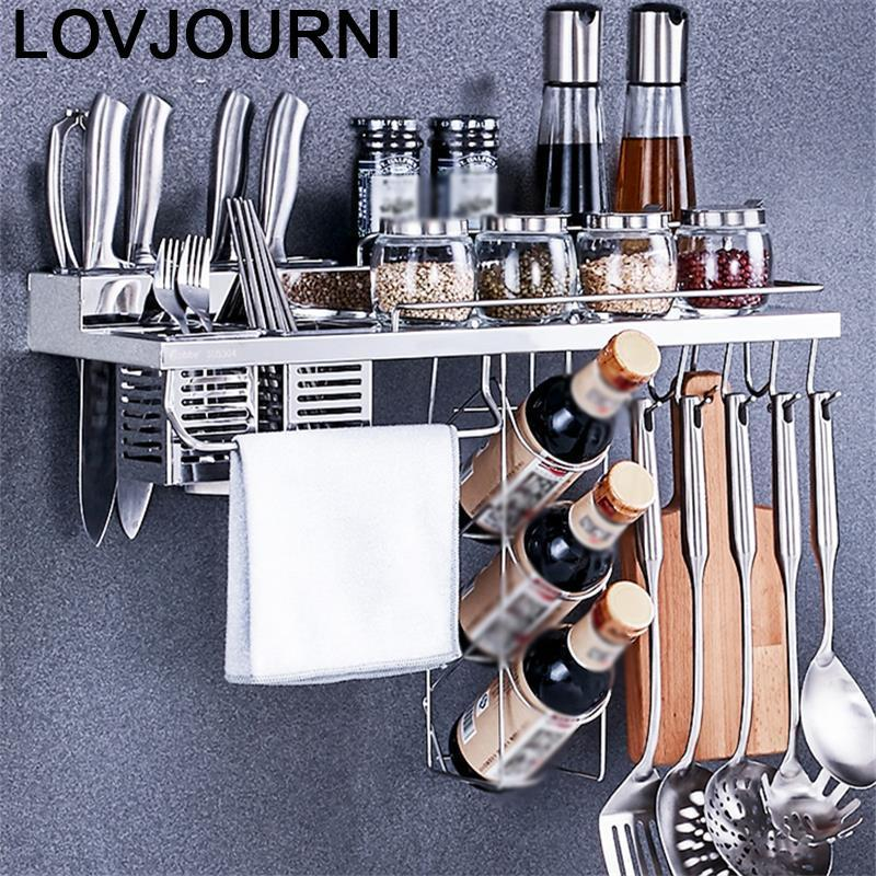 Cosinha, accesorios para fregadero, nunca Organizador de la despensa de acero inoxidable, Cocina, Organizador, estante de almacenaje para Cocina, soporte