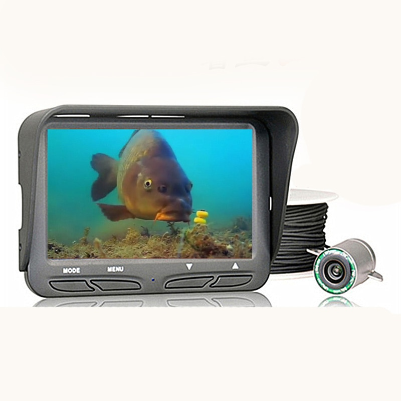 Fish detector underwater visible night-vision high-definition fishing equipment, fishing equipment in the camera waterproofFish enlarge