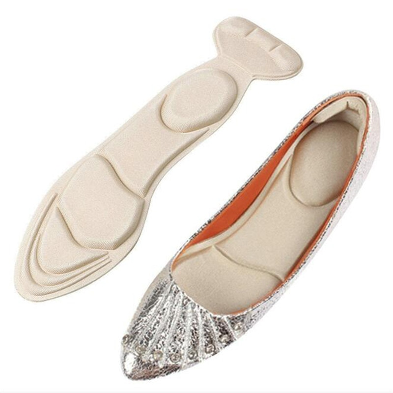 1 Pair Insole Pad Inserts Heel Post Back Breathable Anti-slip for High Heel Shoe New Shoe Cushion Ar