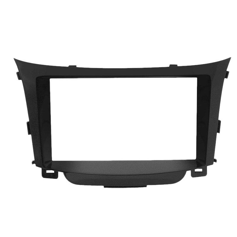 Double DIN Car Radio Facia Fascia DVD Panel Plate Stereo Dash Kit for Hyundai I30 2011