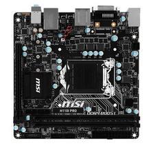 original motherboard MSI H110I PRO MINI-ITX 17*17cm LGA1151 Needle M.2 Support 6/7 Gen i3 i5 i7 DDR4 32G SATA3 USB3.0
