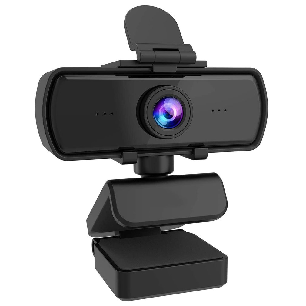 1080P 2K Computer Web Camera With Safe Cover Tripod For Laptop Desktop Webcam With Built-in Mic Cam Web Camera enlarge