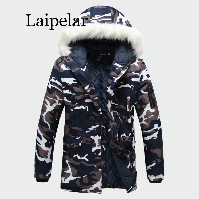 Laipelar 2019 зимние мужские пальто, теплые толстые мужские куртки, мягкие повседневные парки с капюшоном, мужские пальто, Мужская брендовая одеж...