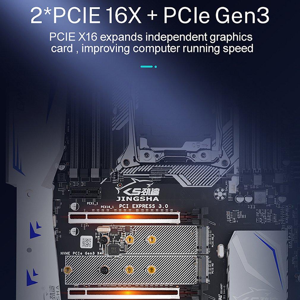 X99 E8I Motherboard Intel XEON E5 LGA 2011V3V4 Processor All Series 8*DDR4 ECC REG Memory SSD M.2 NVME SATA 3.0 ATX Server enlarge