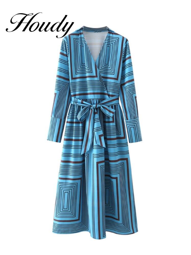 Осень 2021 Новое поступление женские рубашки с длинным рукавом с завязкой Длинные цветные платья осенние свободные платья