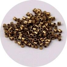 1680 sztuk 15/0 1.6mm metaliczny brąz Delica paciorki szklane kawy szary szkło Seedbeads dla DIY tworzenia biżuterii akcesoria do dekoracji