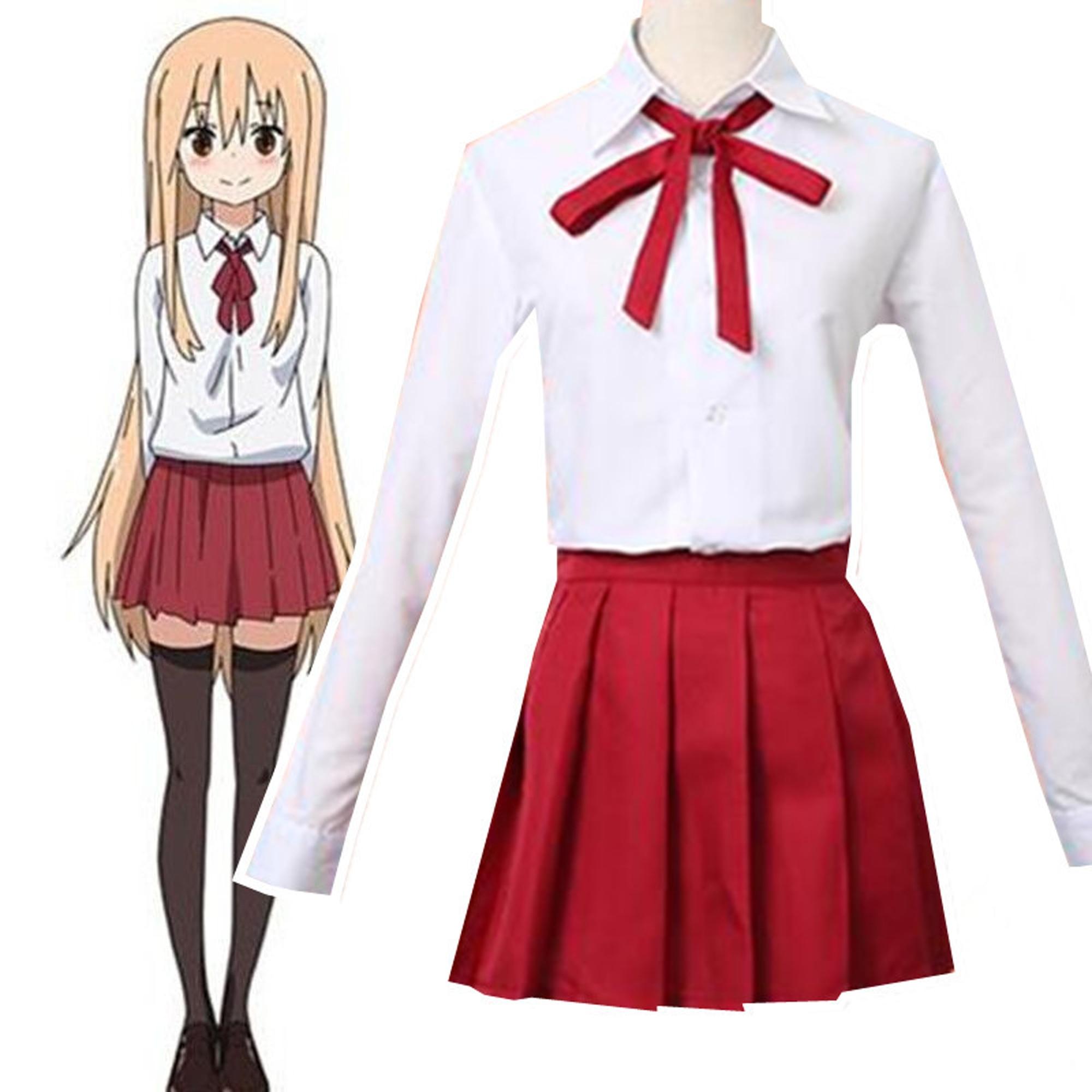 Doma Umaru cosplay costumes Japan and South Korea school uniform Japanese anime Himouto! Umaru-chan clothing