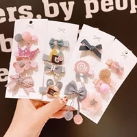 4pc children kids hair clip colorful butterfly shaped girls clips fashion lovely hairpins barrettes bow hair accessories