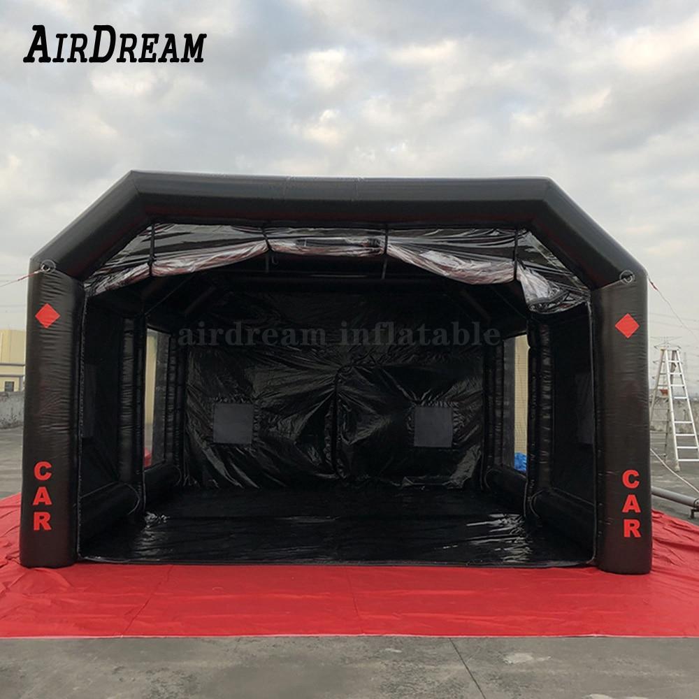 2020 Новое поступление, передвижная мастерская, Воздушная герметичная надувная Автомобильная покрасочная камера, палатка для покраски и гар...