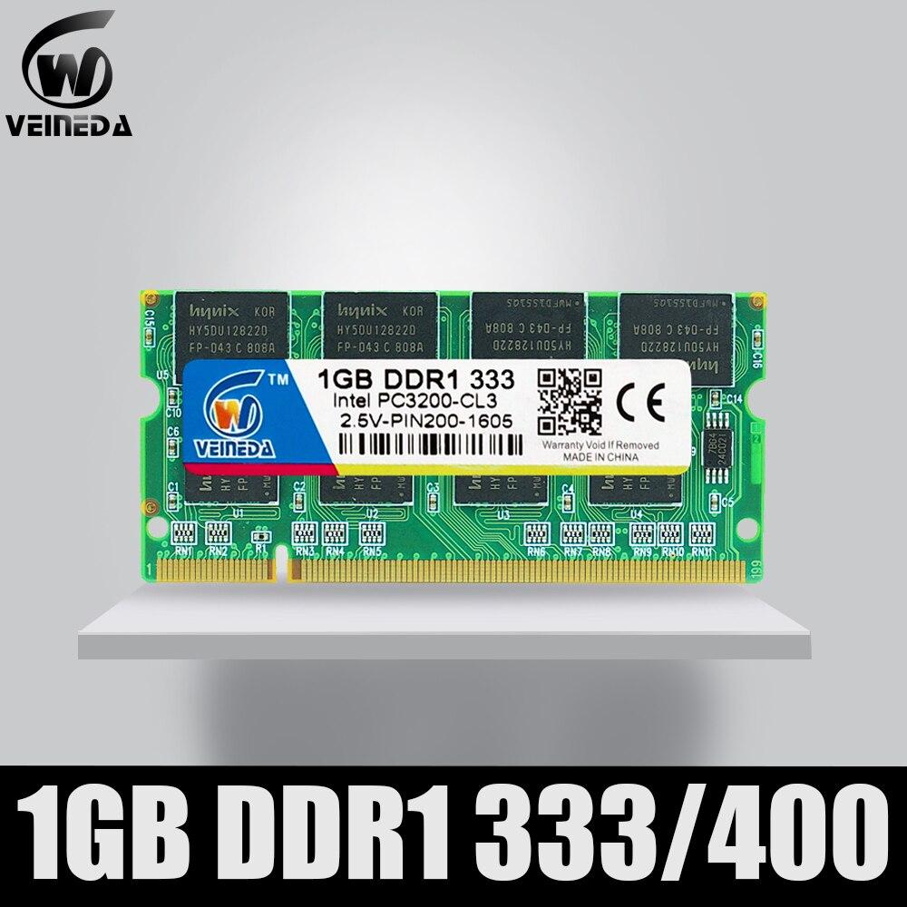 Memoria Ram 1gb ddr 400 So-dimm Memoria Ram ddr400 PC-3200 para Intel AMD portátil Mobo