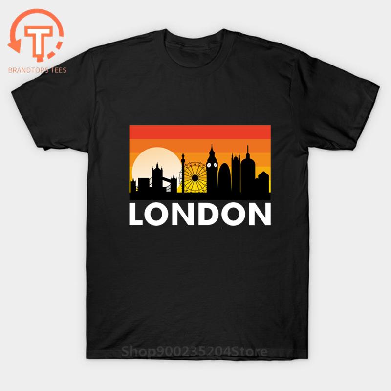 Camiseta I Love London para hombre, Camiseta divertida con diseño romántico de...