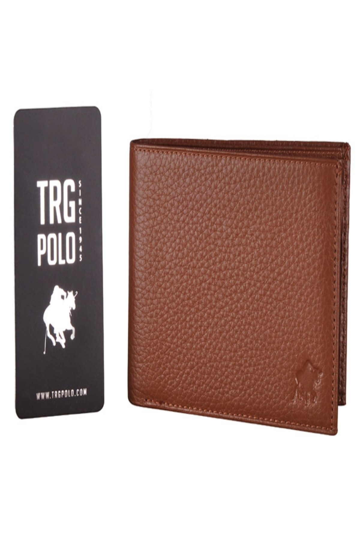 TRG POLO 27456 TAN MALE WALLET GENUINE LEATHER