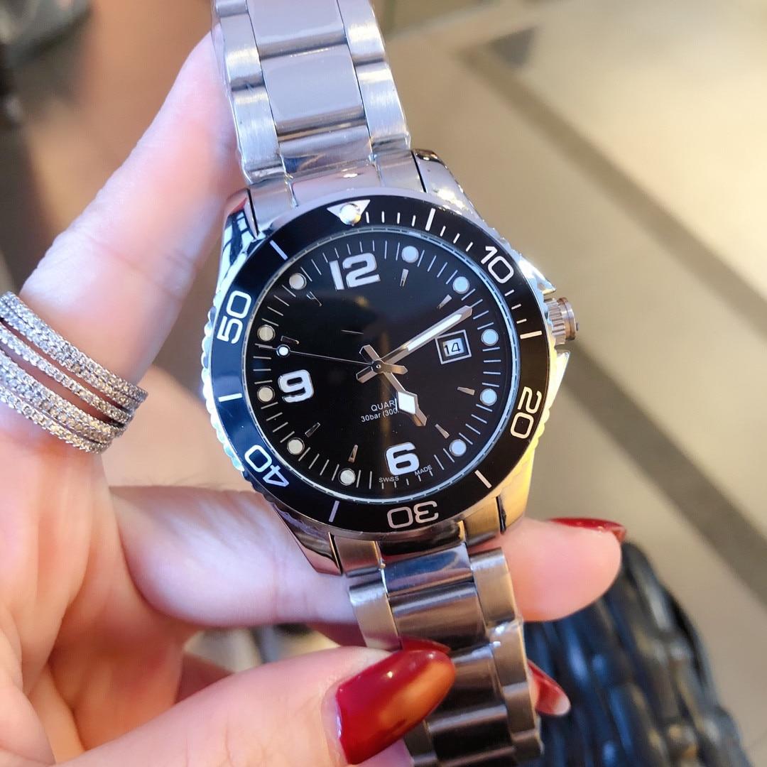 Men's Watch Brand Watch Quartz Watch Men's Watch Fashion Men's Watch Steel Band Watch Casual Watch Calendar Watch Belt Watch