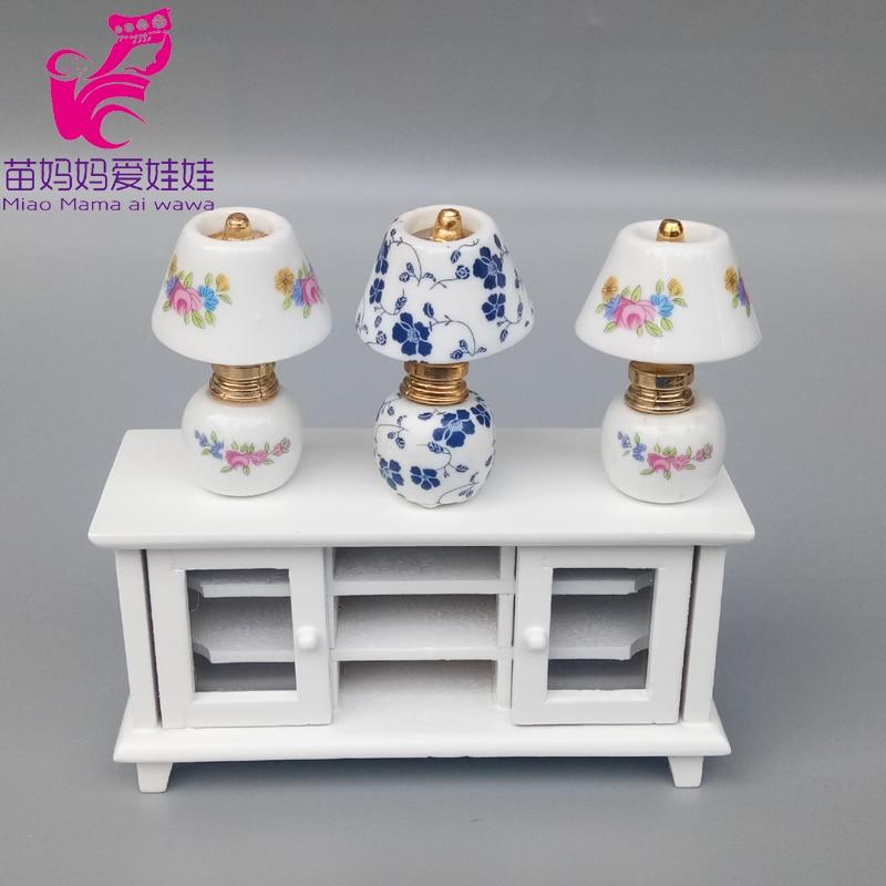 Mini lámpara de mesa de cerámica Vintage para decoración de casa de...