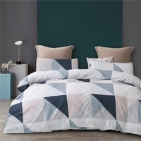 2021 new simple bedding set nordic style duvet cover white bedclothes colorful bed linens dropshipping wholesaler