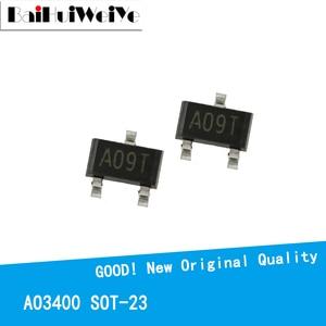50 шт./лот AO3400 SOT23 AO3400A SOT-23 A09T SOT23-3 SMD новый и оригинальный чипсет IC MOSFET MOSFT
