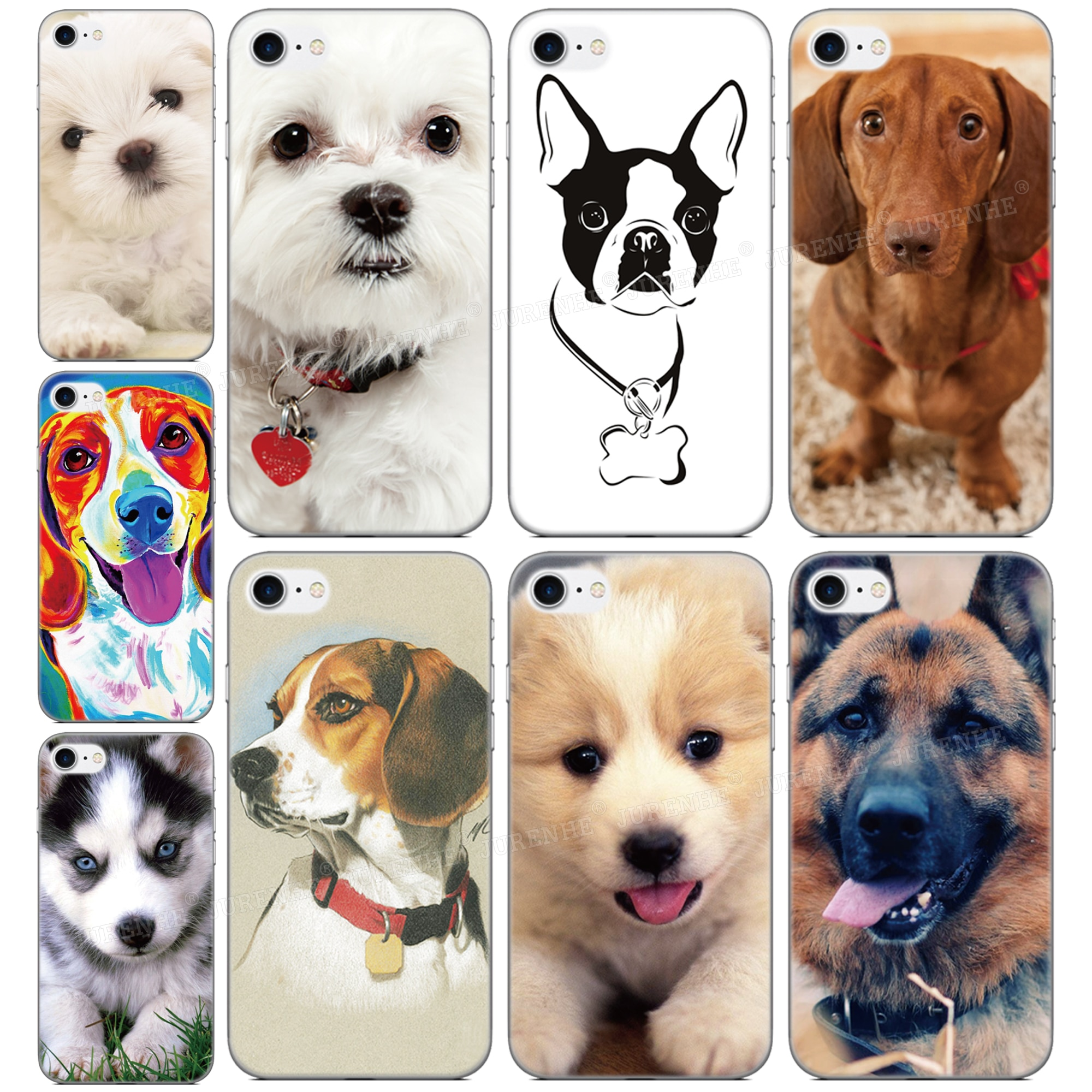 Funda de perro mascota impresa para LG Q70 K61 K51s K50s K40s Q60 K50 K40 K30 K20 2019 Stylo 5 4 G7 G8 G8X G8S V50 V60 V50s, funda de teléfono Delgado