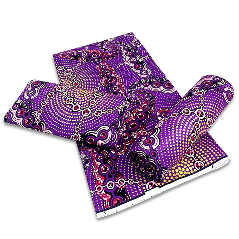 Nigerian Ankara Sewing Material Fabrics For Dress Best Quality Veritable African Print Wax Fabric 100%Cotton By The Yard GD 125