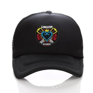 anime Game Kingdom Hearts Male Female Cosplay Trucker hat Hip Hop Unisex Adjustable Summer Fitted Snapback Cap