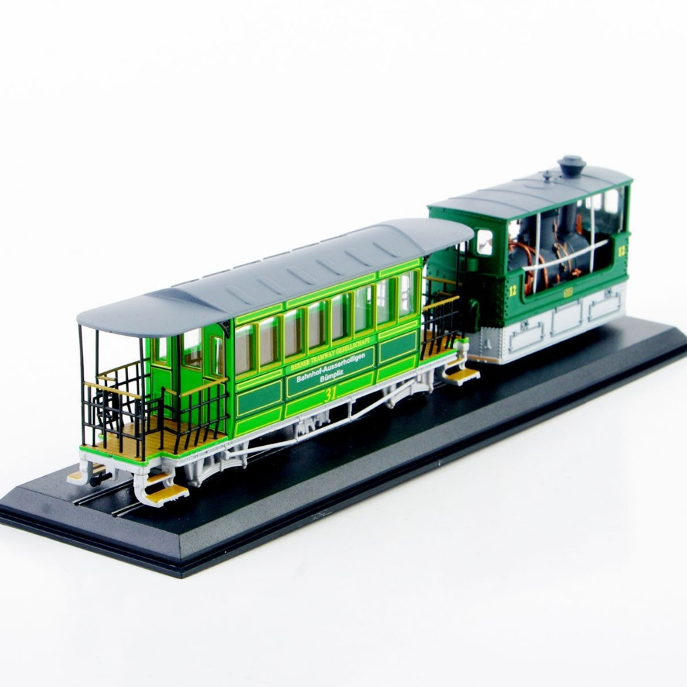 Crianças brinquedos modelo de bonde brinquedos 1/87 modelo de tensão escala g 3/3 (slm)-1894 diecast modelo de carro caminhão colecionável ônibus modelo brinquedos coleção