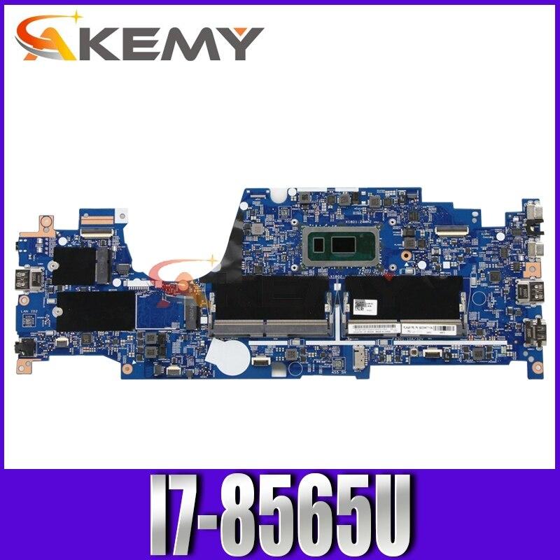 Akemy لينوفو ثينك باد L390 اللوحة الأم للكمبيوتر المحمول LKL-2 MB 18724-1M 448.0fc01.001m 448.0FC02.0011 وحدة المعالجة المركزية i7-8565U اختبار اختبار