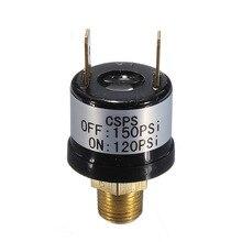 Interrupteur de pression dair 12V 120-150 PSI   Adapté au compresseur de klaxon de Train de trompette
