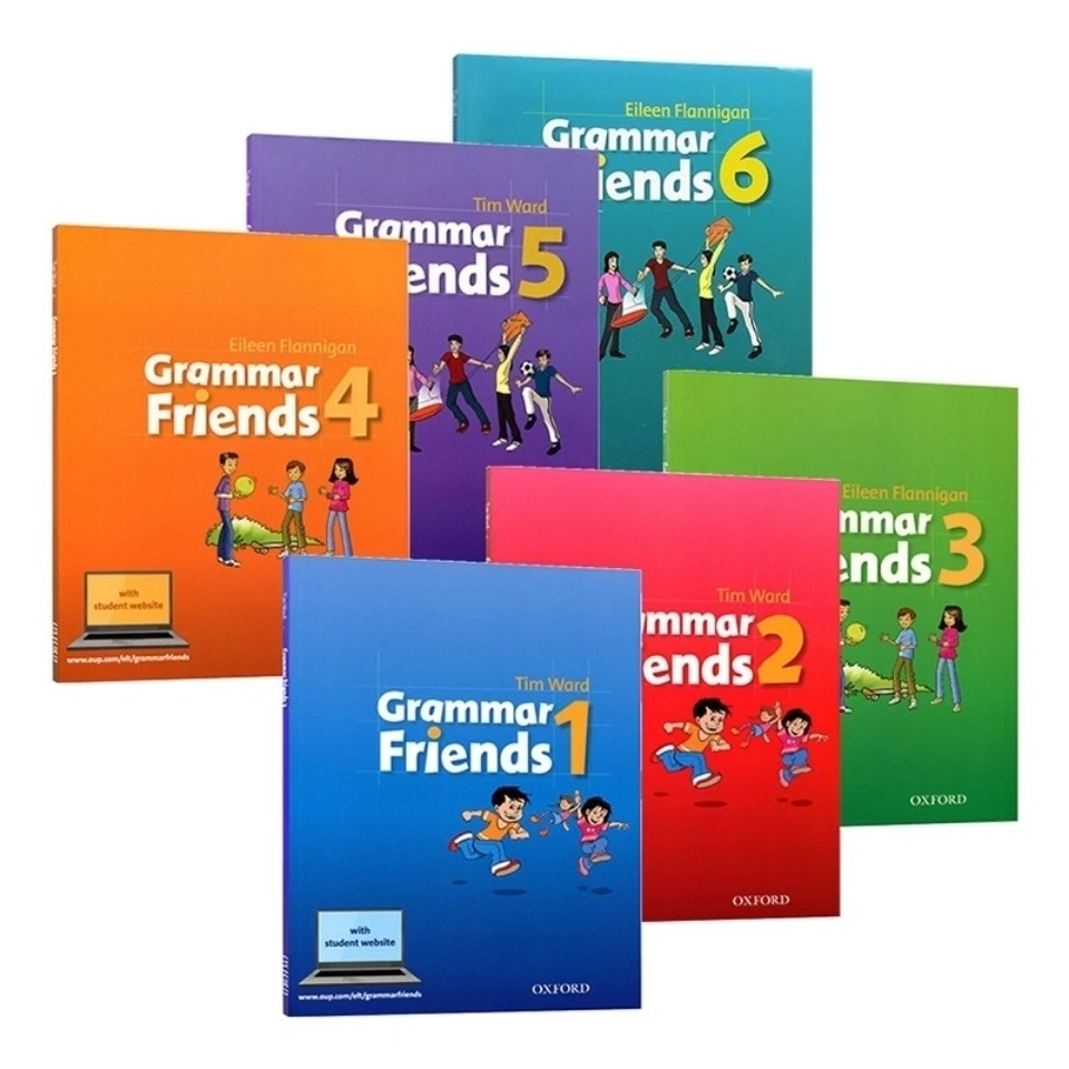 1 Set 6 Books Oxford Grammar Friends English Reading Picture Books Oxford Books English Learning