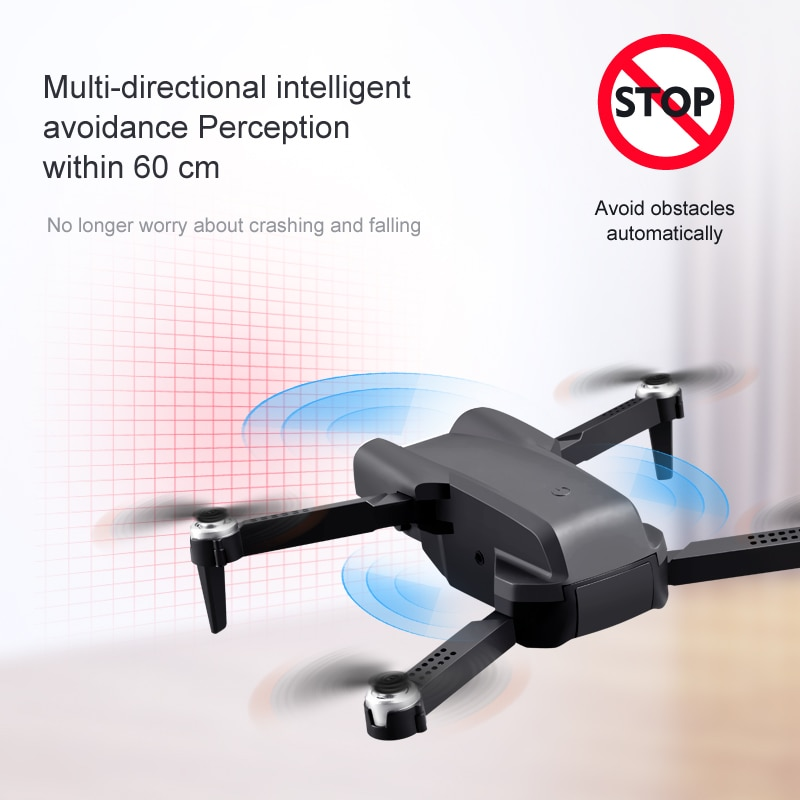 K99Max RC Drone 4K Professional Dual Camera Aerial Photography Quadcopter WiFi 3-Side Obstacle Avoidance Foldable Helicopter Toy enlarge