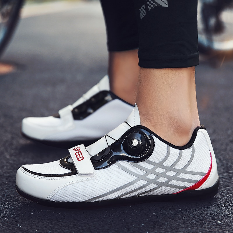 Road cycling shoes men Sneakers women Non-locking pedals breathable superstar zapatillas deportivas hombre mountain bike shoes