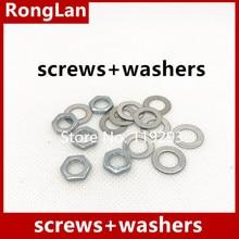 Spot quality precision adjustable potentiometer RK097N 097 screws + washers-100set/lot