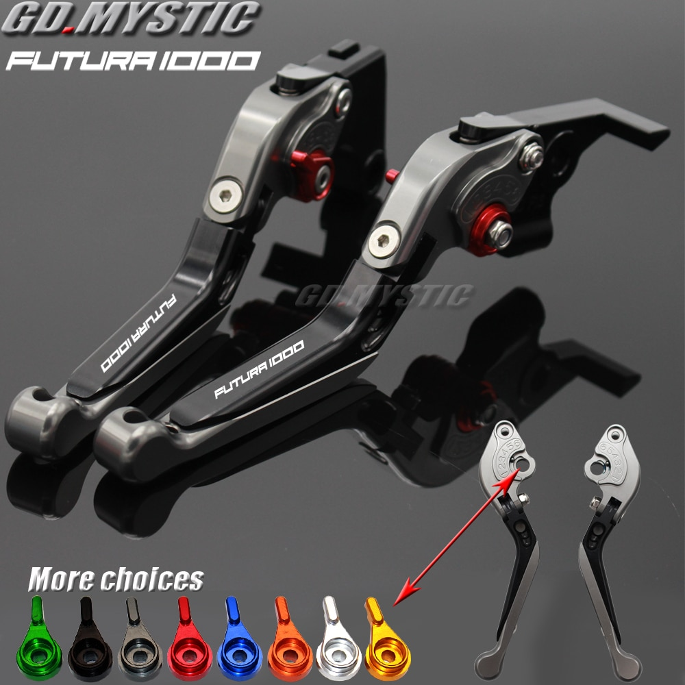 Para Aprilia RST1000 RST 1000 FUTURA 2001 2002 2003 2004 palancas de freno de embrague ajustables para motocicleta CNC extensibles