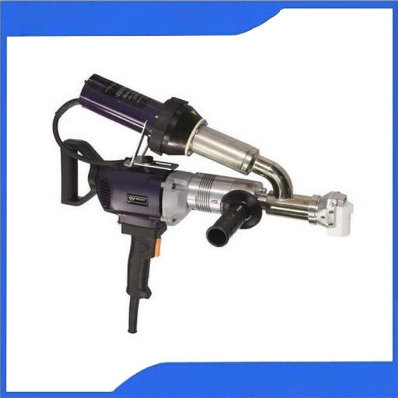 WELDY 3400 واط يده بثق بلاستيكي آلة لحام عدة 220 فولت الهواء الساخن البلاستيك لحام بندقية الفينيل لحام البثق لحام EX2