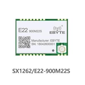 E22-900M22S LORAWAN SX1262 LoRa TCXO Wireless Transceiver SPI 868MHz SMD 915MHz SMD ebyte Transmitter Receiver rf Module