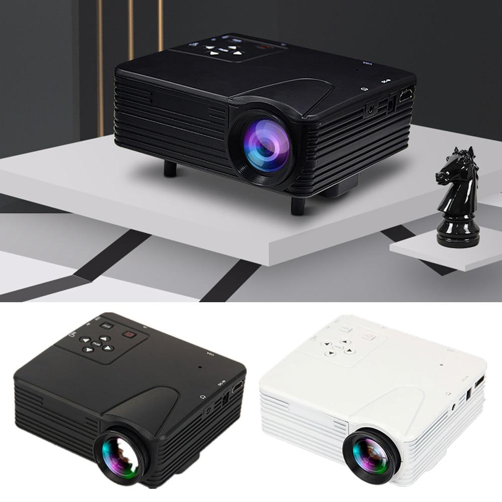 جهاز عرض ضوئي صغير جهاز عرض (بروجكتور) ليد, للوسائط المتعددة ، جهاز عرض للأفلام مسرح سينما مشغل ديفيدي