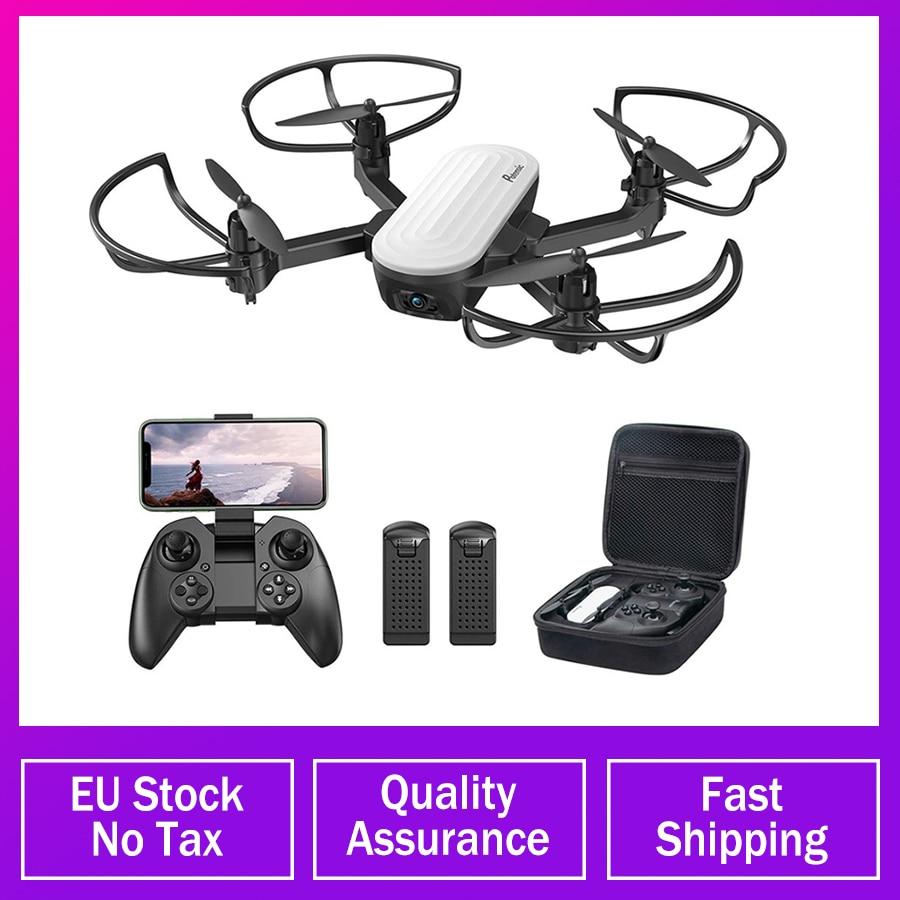 Potensic P6 Elfin Faltbare Drone mit 2K FHD Kamera FPV RC Quadcopter Gesture Control Headless Flug Spielzeug für Kinder 2 batterie