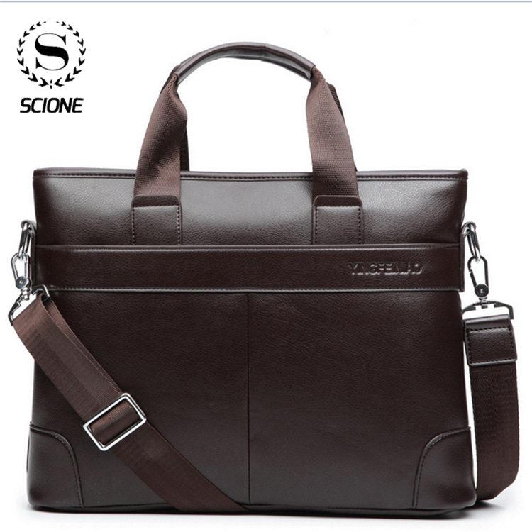 SCIONE 2020 Men Briefcase Bag Office Men Business Bags Man Travel Business Bags For Men's Bag Briefcase Laptop Men's Tote Bag