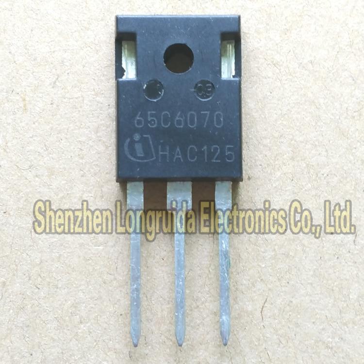 10 Pcs 65C6070 IPW65R6070C6 To-247 Mosfet Transistor 53A 650V