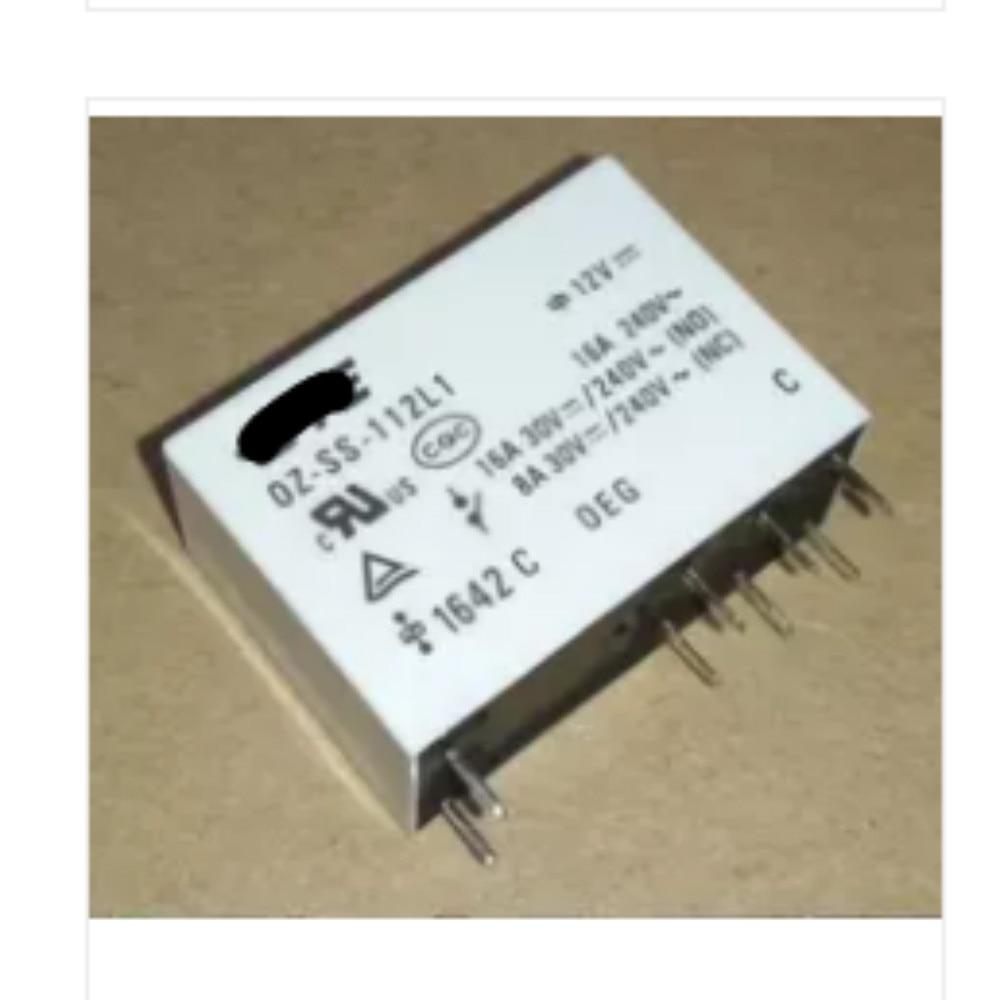 20 шт. OZ-SS-112L1 12 В 12 В постоянного тока 16A 240 В переменного тока DIP-8 100% Новый оригинальный