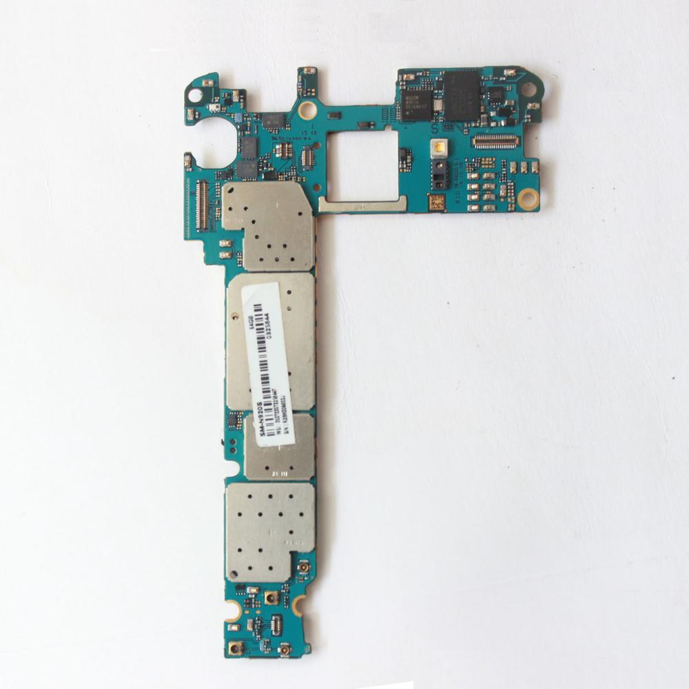 Placa-mãe principal desbloqueado para samsung galaxy note 5 n920s/l/k (64 gb) versão coreana