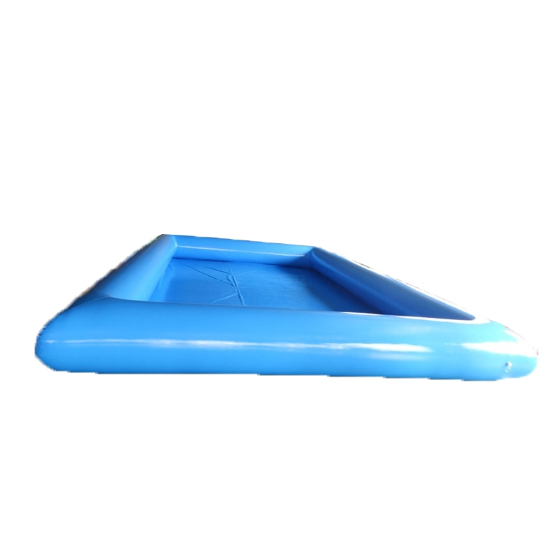 Inflatable Swimming Pool Commercial PVC Mesh Cloth Inflatable Pool For Adults And Kids With Free Air Pump
