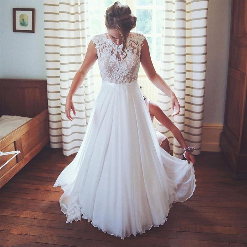 Plus Size Wedding Dress Short Sleeve Big Size A-Line Lace Appliques Floor length Organza Charming For Women Brides Elegant