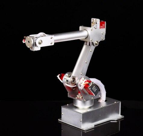 Robot 6-DOF tout manipulateur en métal couple élevé tout appareil de direction numérique Arduino open source