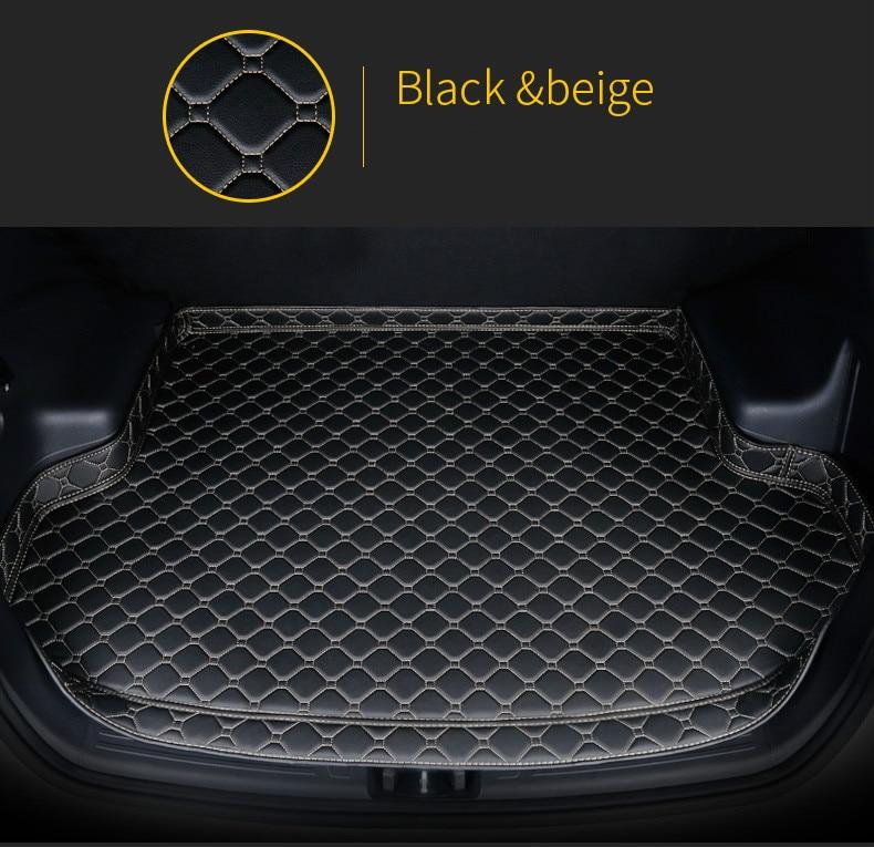 Custom No Odor Waterproof Non Slip Boot Carpet Car Trunk Mat for Nissan Tiida X-TRAIL Qashqai...