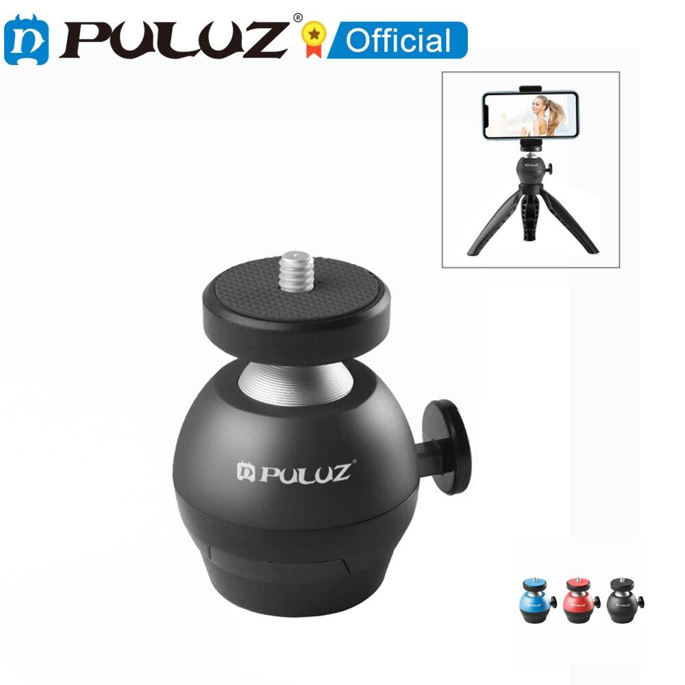 PULUZ-Adaptador de trpode para cmara y telfono inteligente de tornillo de 1/4...